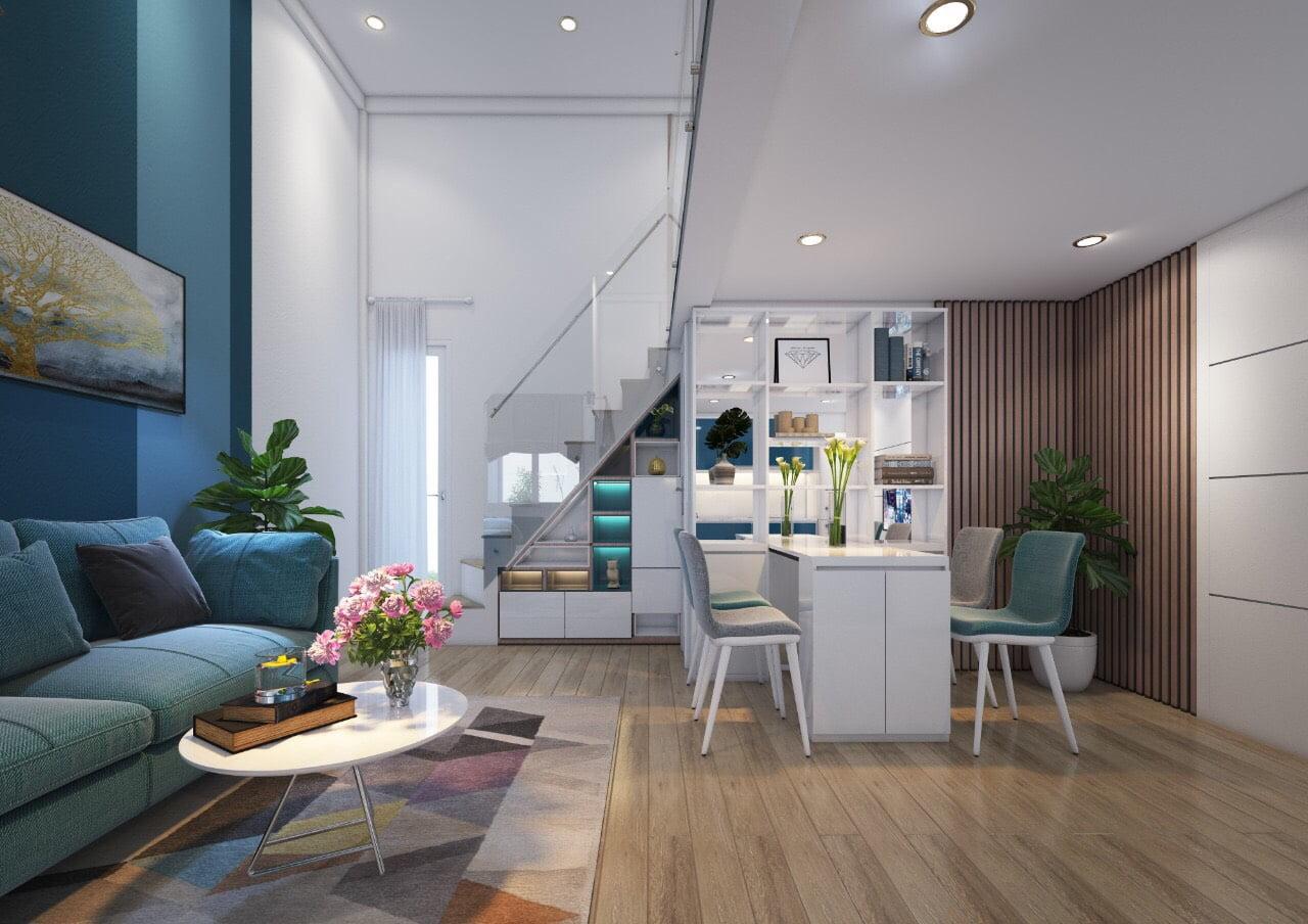 thiết kế căn hộ mẫu dự án căn hộ mini 9x quận 7