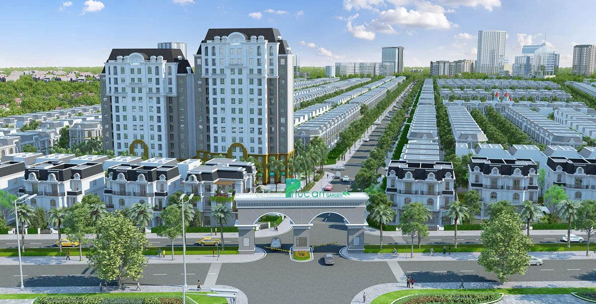 Cổng chào Dự án Khu đô thị Phúc An Garden