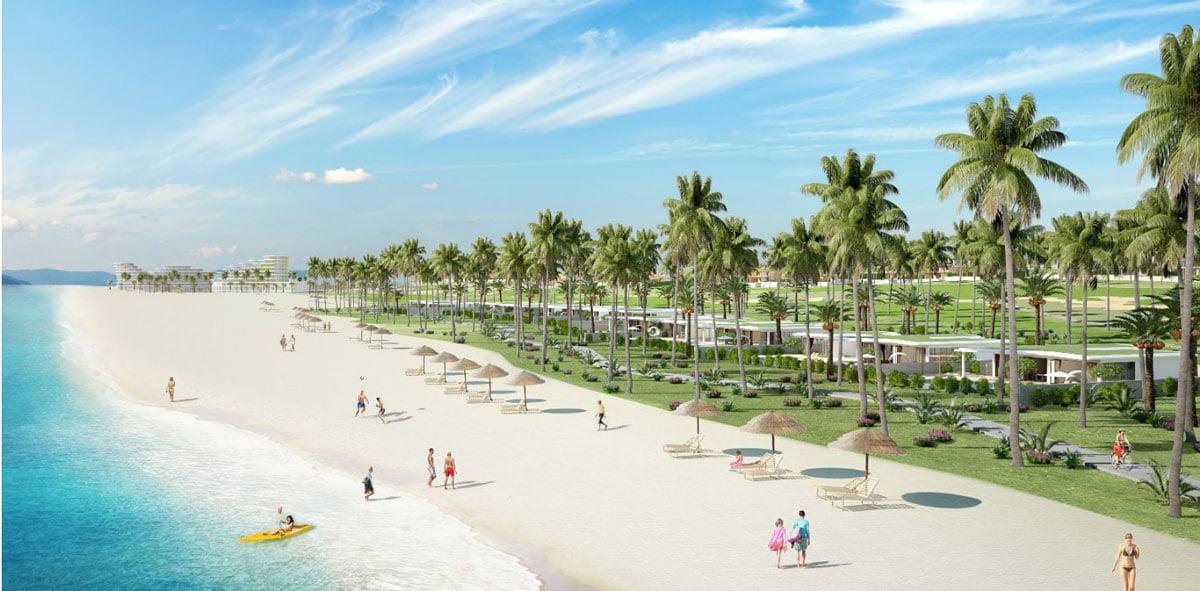 Nhon Hoi New City giáp biển vô cùng đẹp