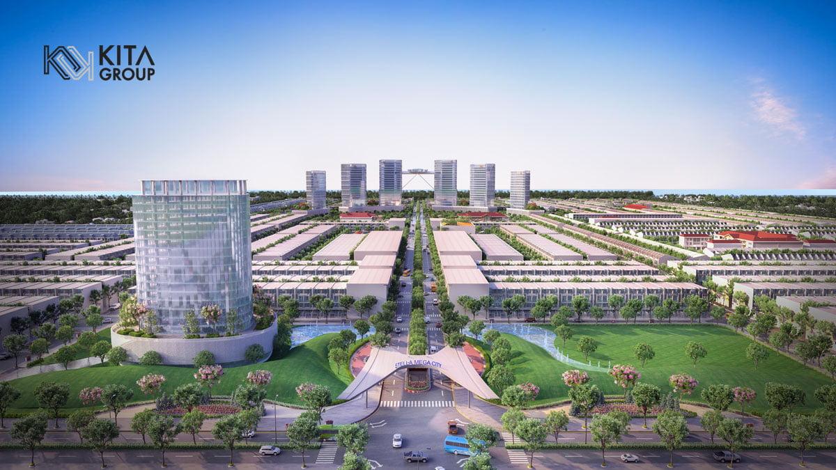 Phối cảnh Dự án Khu dân cư Ngân Thuận