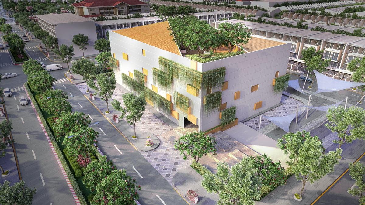 Trường học Quốc tế Dự án Khu dân cư Ngân Thuận