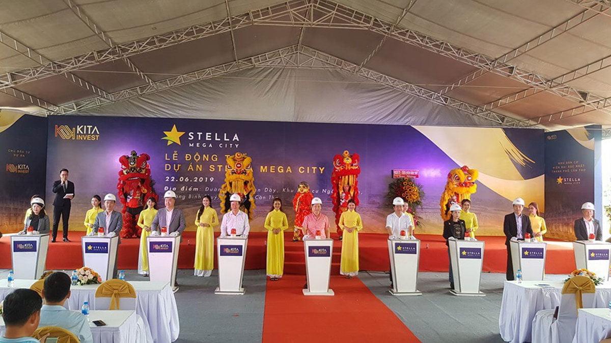 Lễ động thổ Khu đô thị Stella Mega City Cần Thơ