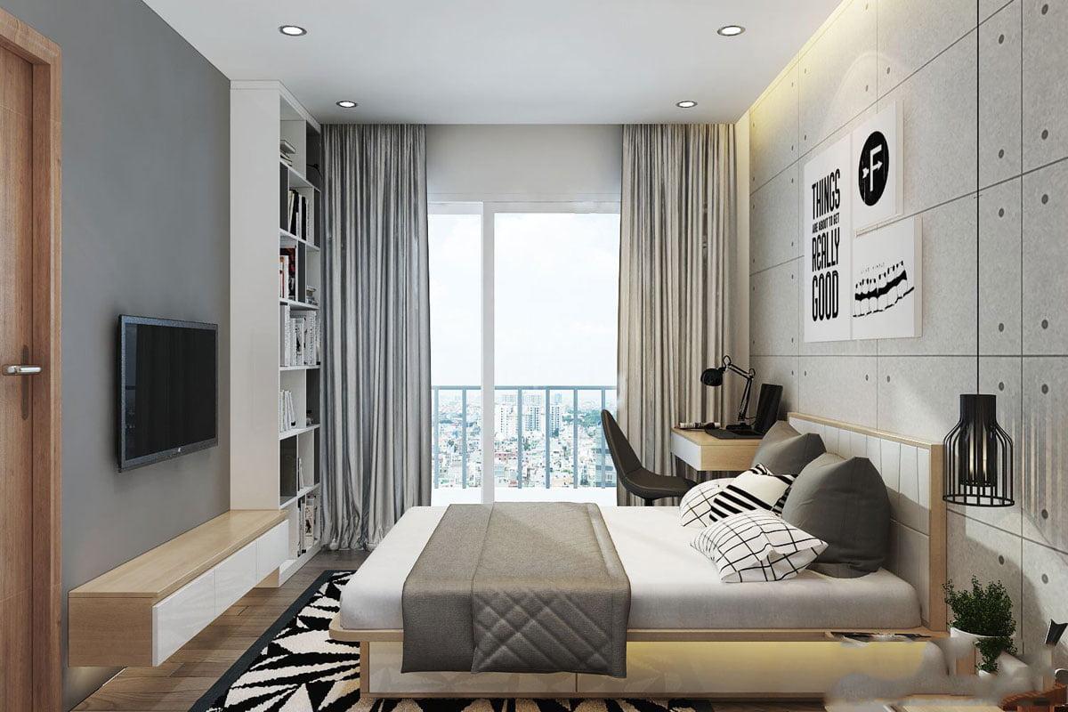 Phòng ngủ nhỏ Căn hộ Mường Thanh Gò Vấp