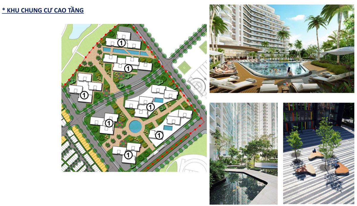 Khu căn hộ cao cấp tại Khu đô thị du lịch sinh thái Nhơn Hội