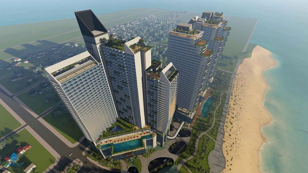 Phối cảnh tổng thể Dự án Sunbay Park Ninh Thuận