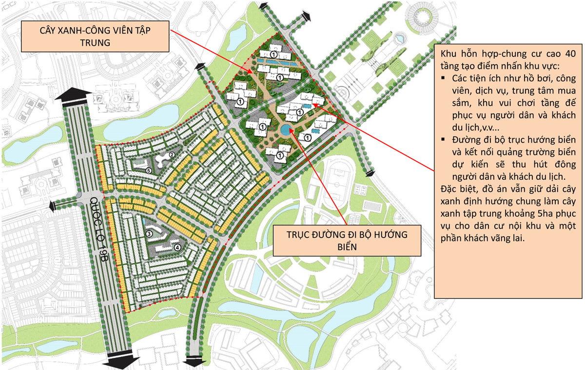 Tiện ích Dự án Khu đô thị du lịch sinh thái Nhơn Hội
