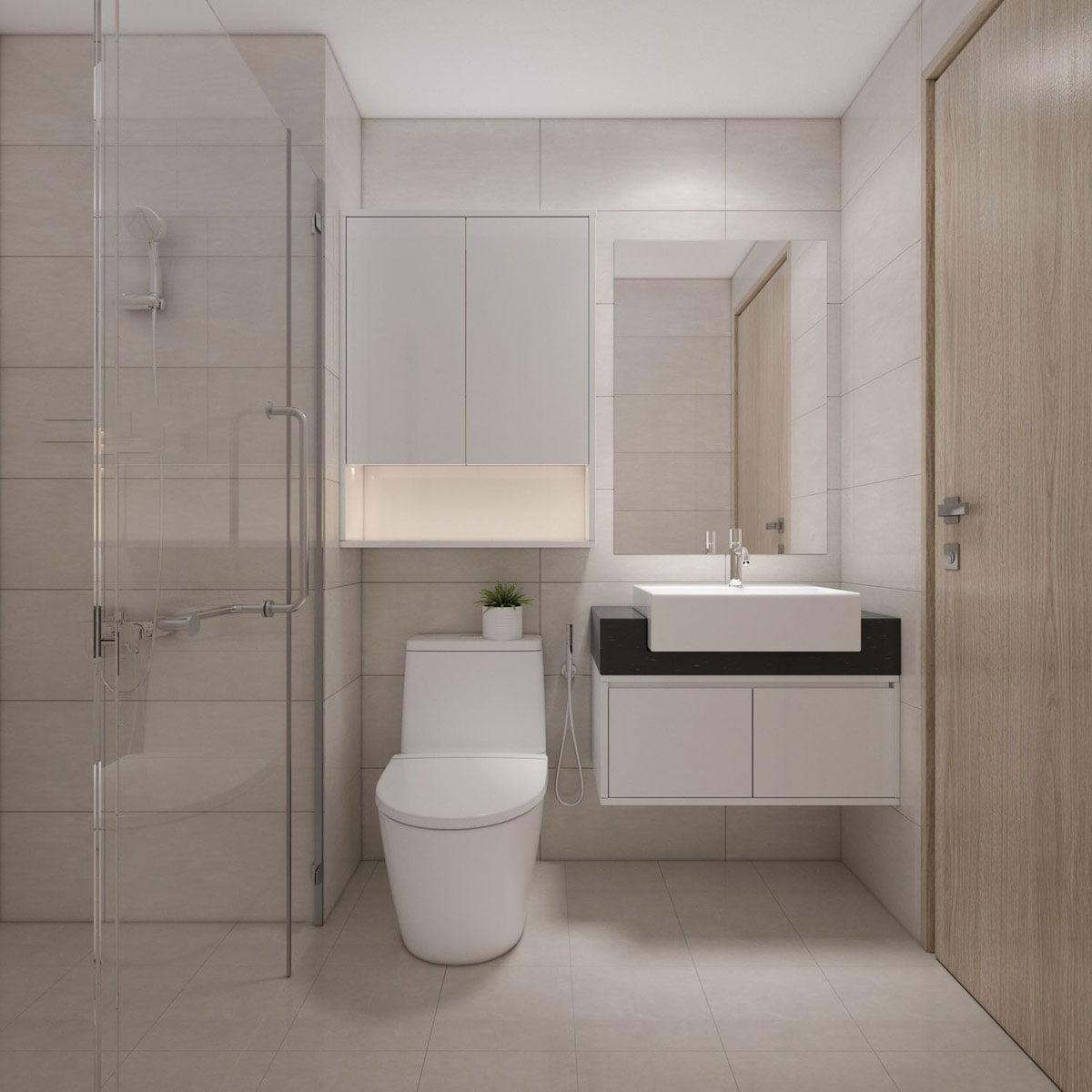 Toilet Căn hộ Mường Thanh Gò Vấp