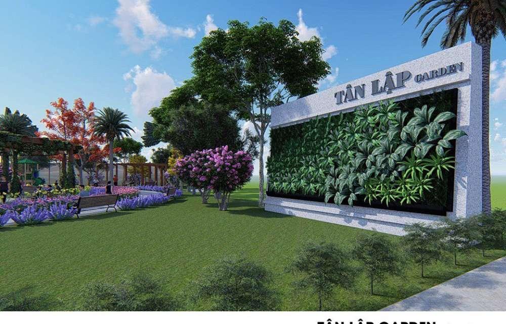 Phối cảnh dự án Tân Lập Garden Bình dương