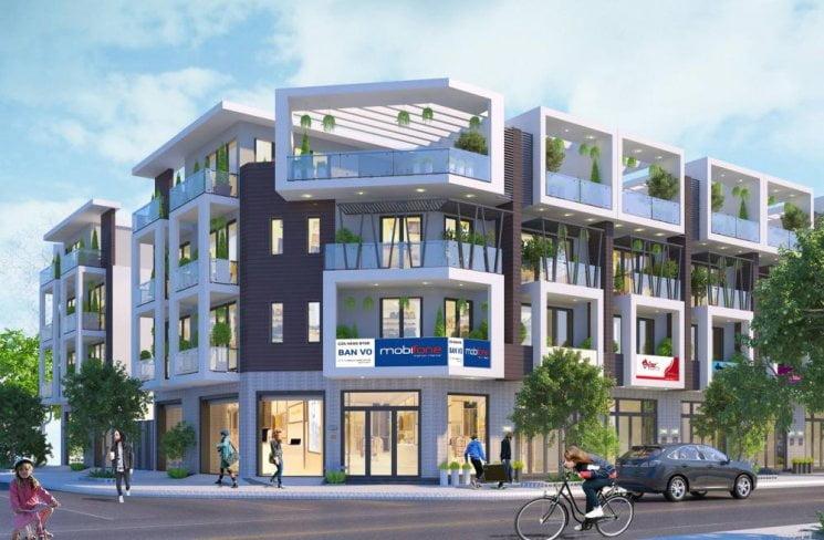Thiết kế nhà phố Dự án Bình Sơn Ocean Park Ninh Chữ