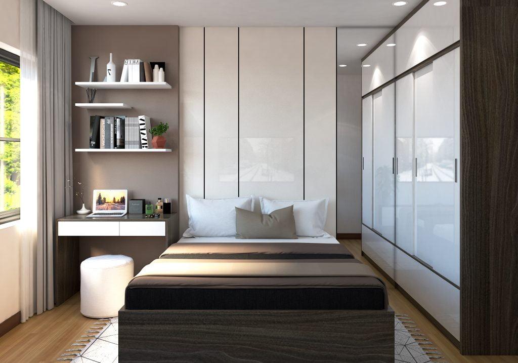 phòng ngủ dự án Bcons suối tiên