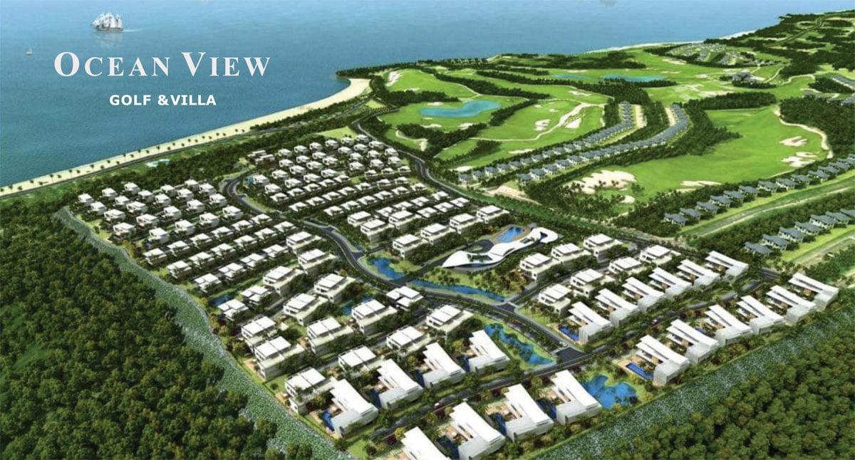 Phối cảnh Dự án Ocean View Golf & Villas