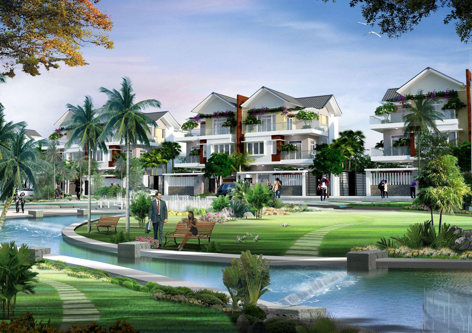 thiết kế biệt thự Dự án Bình Sơn Ocean Park