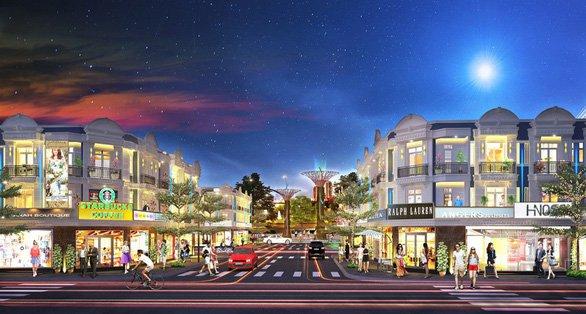 Phối cảnh Khu đô thị Đồng Phú Mall Center Đồng Xoài Bình Phước