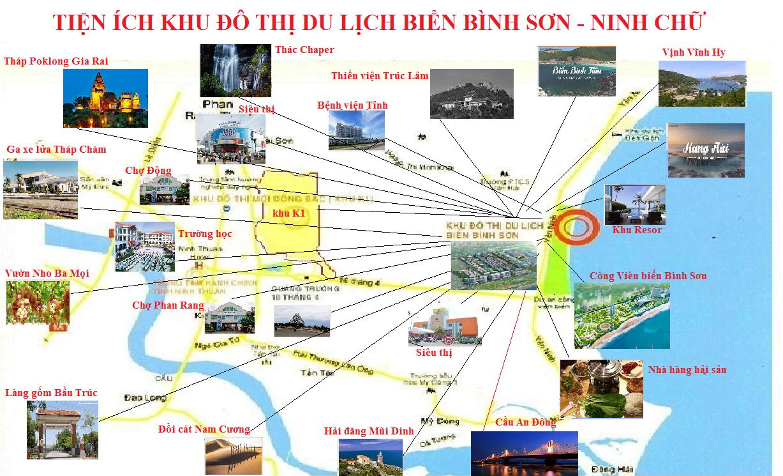 Tiện ích Dự án Bình Sơn Ocean Park Ninh Chữ