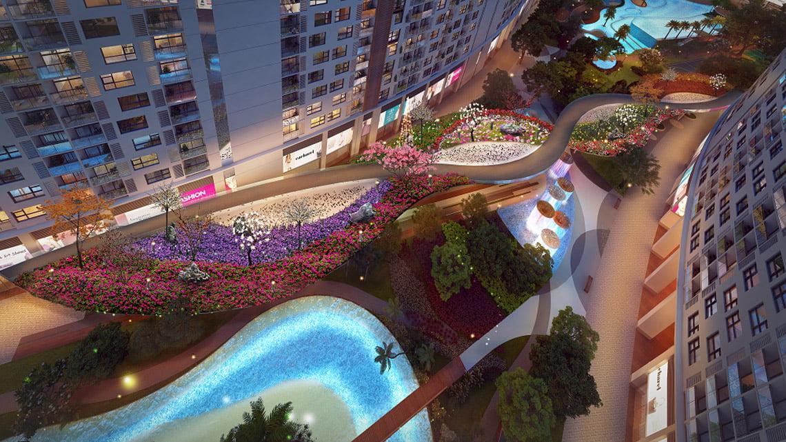 Tiện ích dự án căn hộ chung cư Sunshine River City Quận 7 Đường Đào Trí chủ đầu tư Sunshine Group