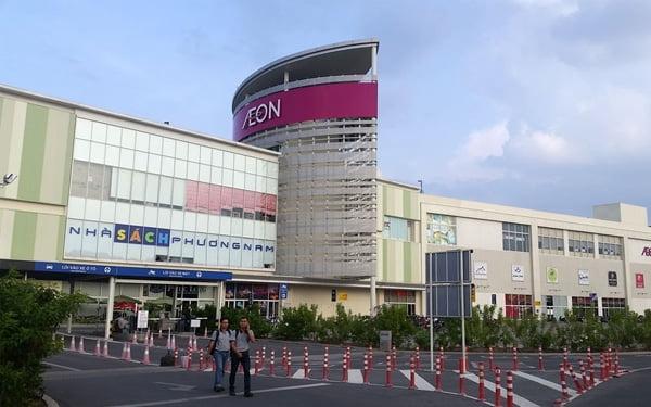 trung tâm mua sắm aeon mall bình dương