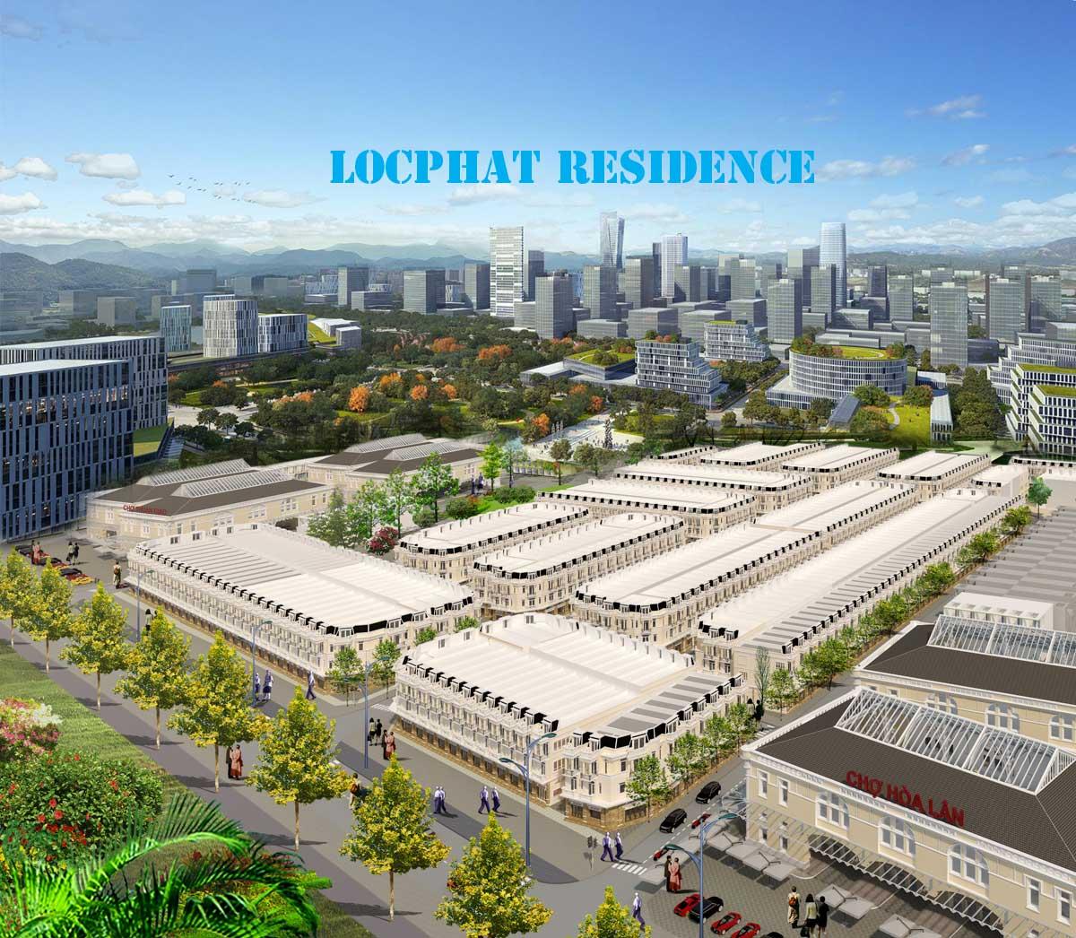 Phối cảnh dự án Lộc phát Residence