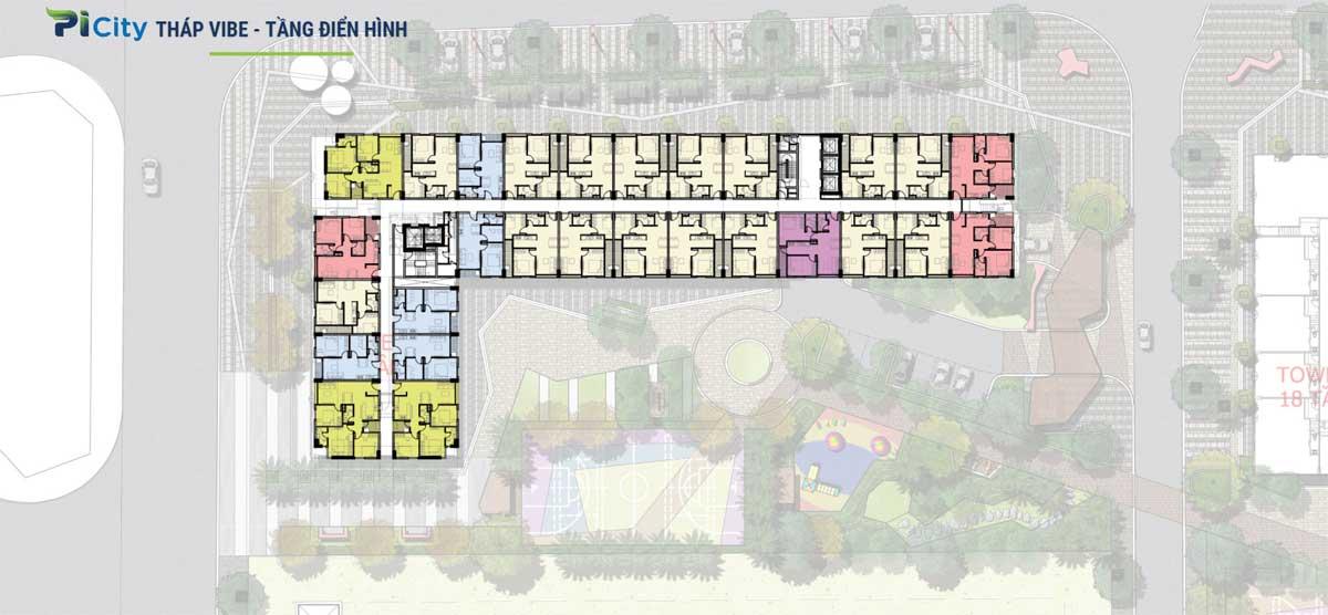 Tháp C1 – The Vibe Dự án Picity High Park Thạnh Xuân Quận 12