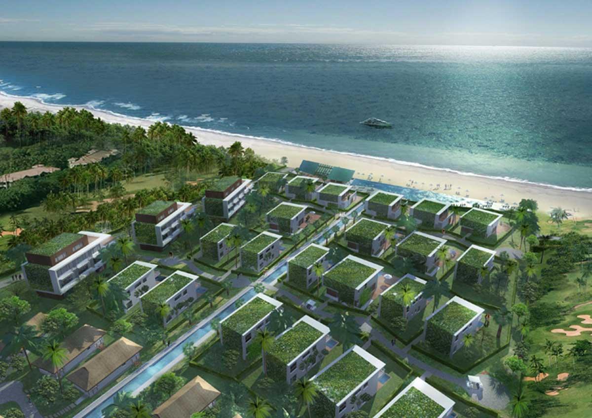 Phối cảnh Khu biệt thự Non Nước Beach Đà Nẵng