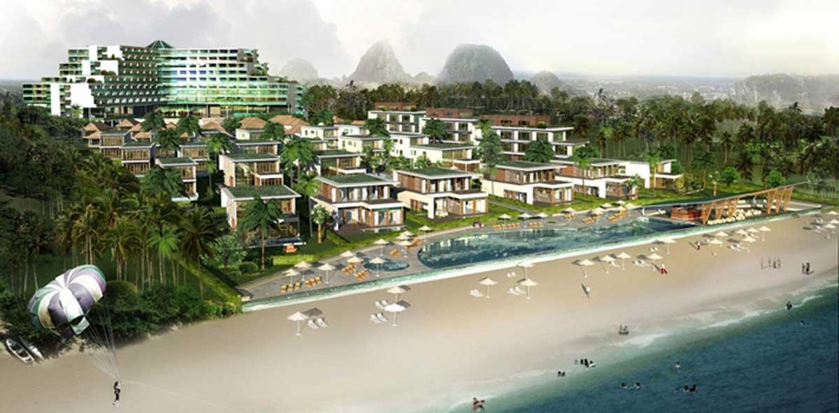Phối cảnh Dự án Non Nước Beach Đà Nẵng