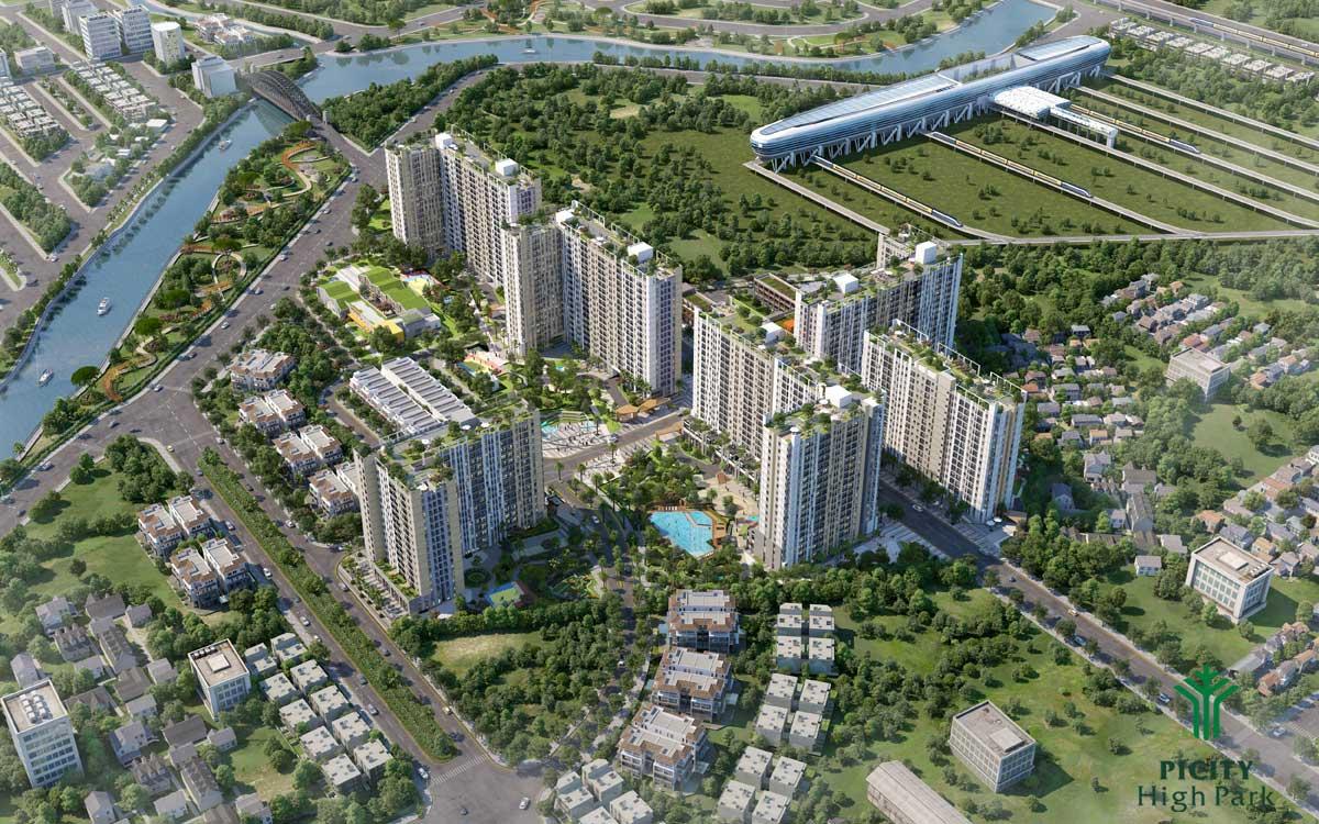 Dự án Căn hộ Chung cư PiCity High Park Thạnh Xuân Quận 12