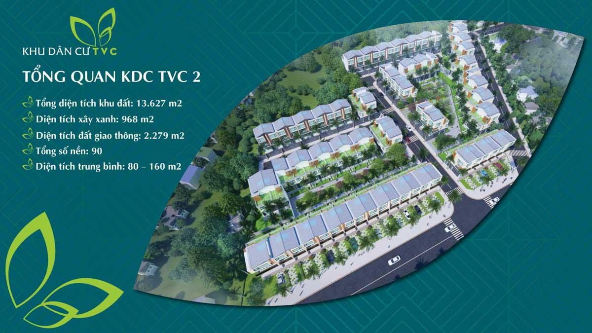 Tổng thể Dự án đất nền Khu dân cư TVC 2 Trần Văn Chẩm Củ Chi