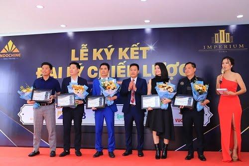 Lễ kí kết hợp tác phân phối căn hộ chung cư Imperium Town Nha Trang