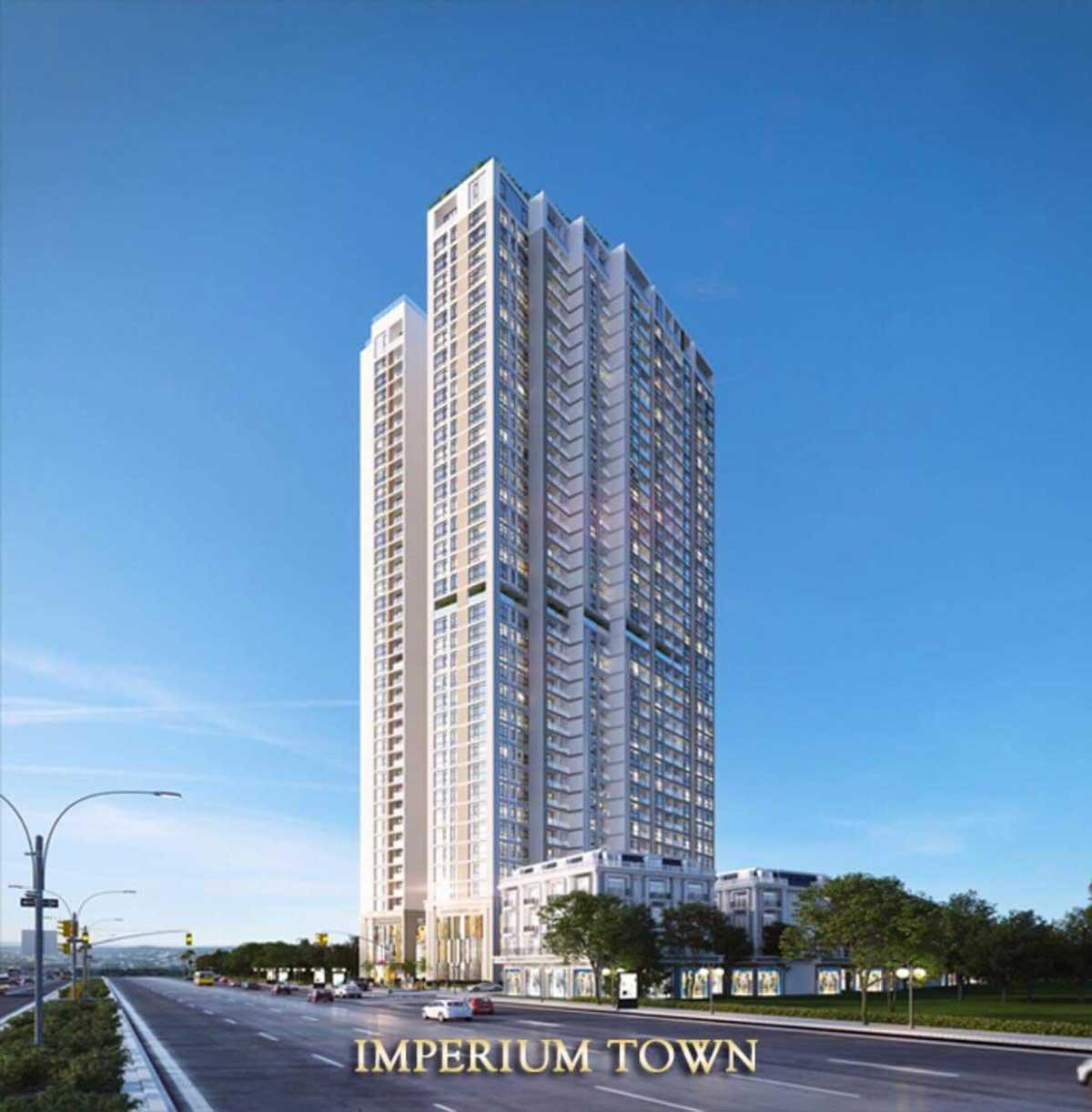 Phối cảnh tổng thể căn hộ chung cư Imperium Town Nha Trang Đường Phước Long chủ đầu tư Indochine Nha Trang