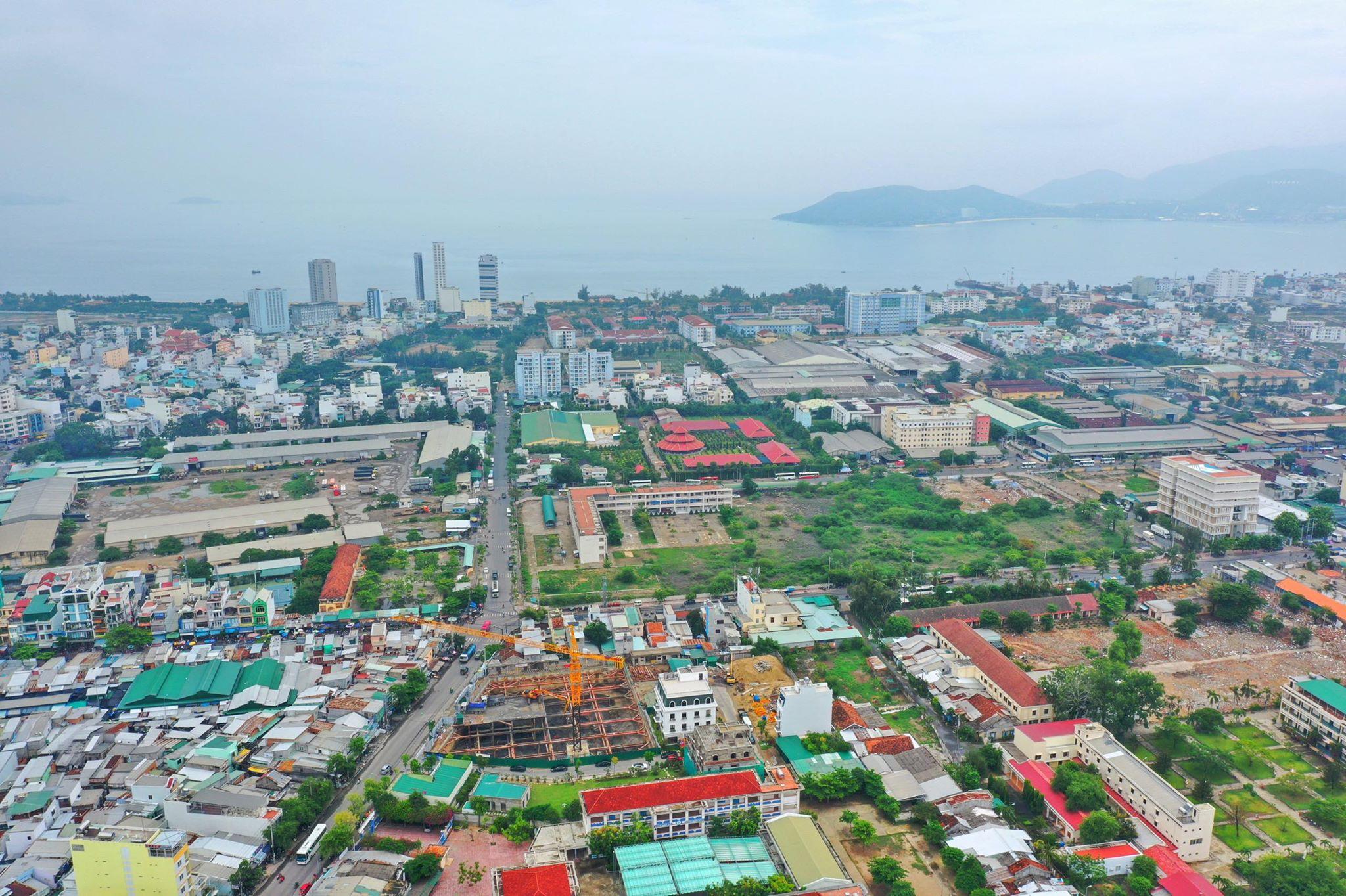 Vị trí Dự án Căn hộ Imperium Town Nha Trang