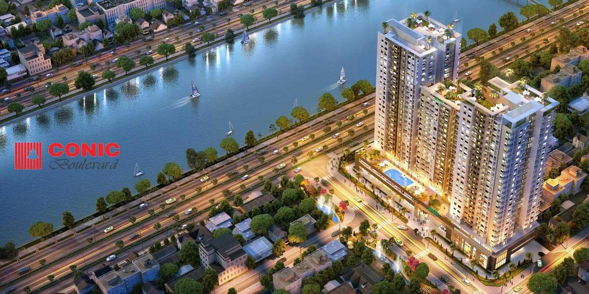 Phối cảnh Dự án Căn hộ Chung cư Conic Boulevard Quận 6