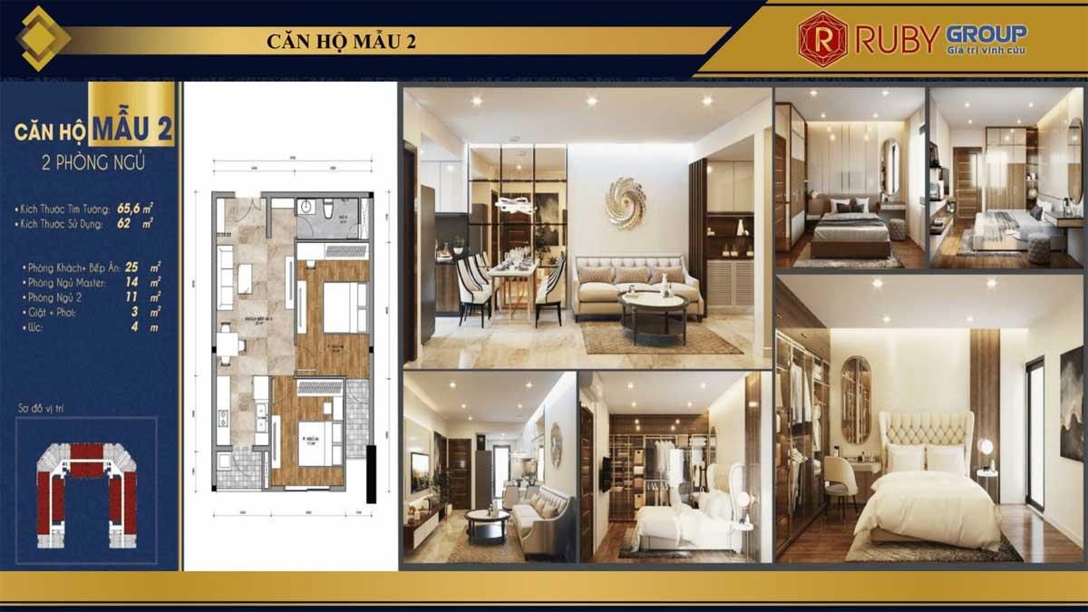 Thiết kế căn hộ Thịnh Gia Tower