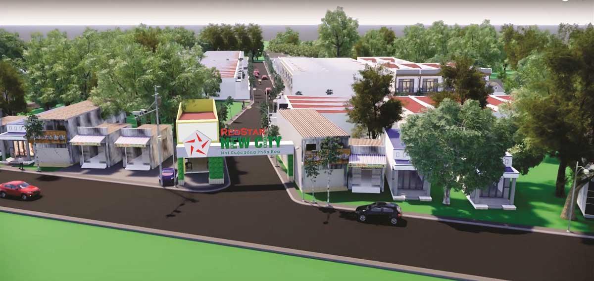 Cổng Dự án Redstar New City Bà Rịa Vũng Tàu