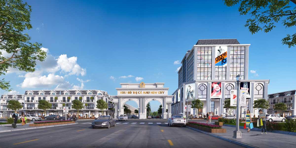 Dự án Khu Đô Thị Cà Mau New City