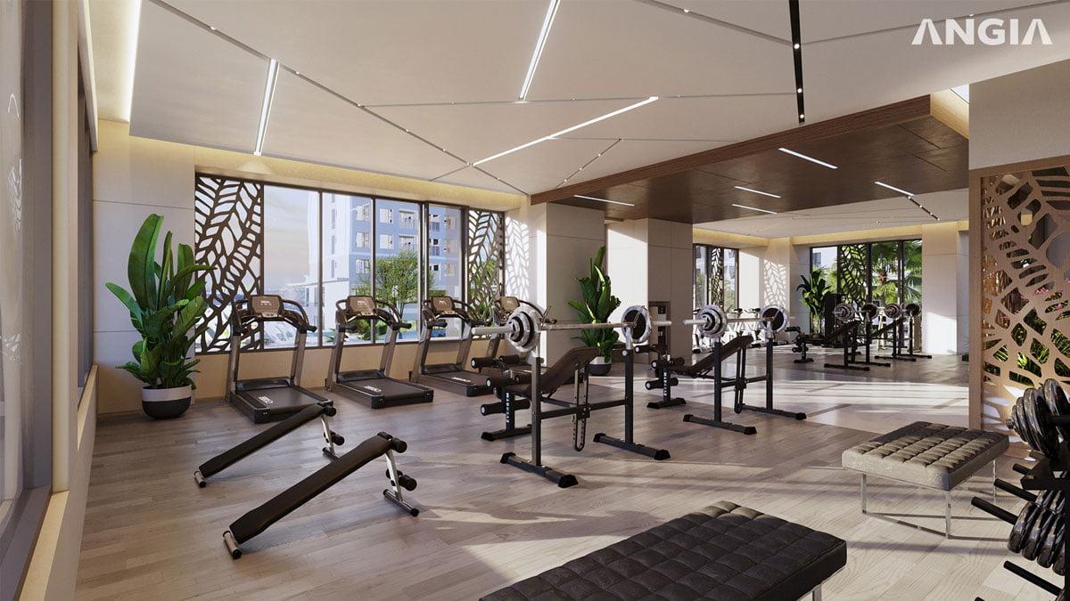 Phòng Gym Dự án West Gate Bình Chánh