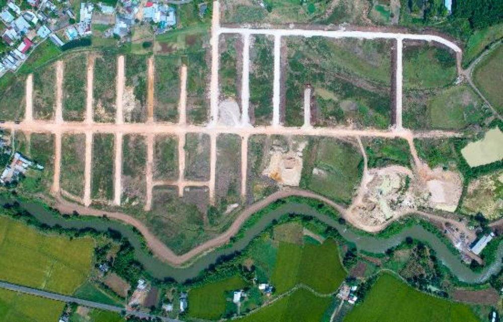 Hình ảnh thực tế dự án đất nền Hồ Tràm Riverside