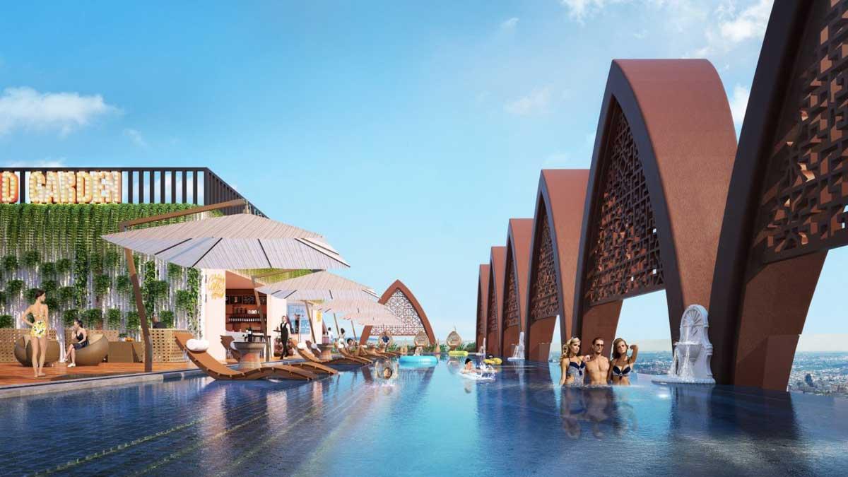 Hồ bơi Panorama Dự án Căn hộ Apec Mandala Grand Phú Yên