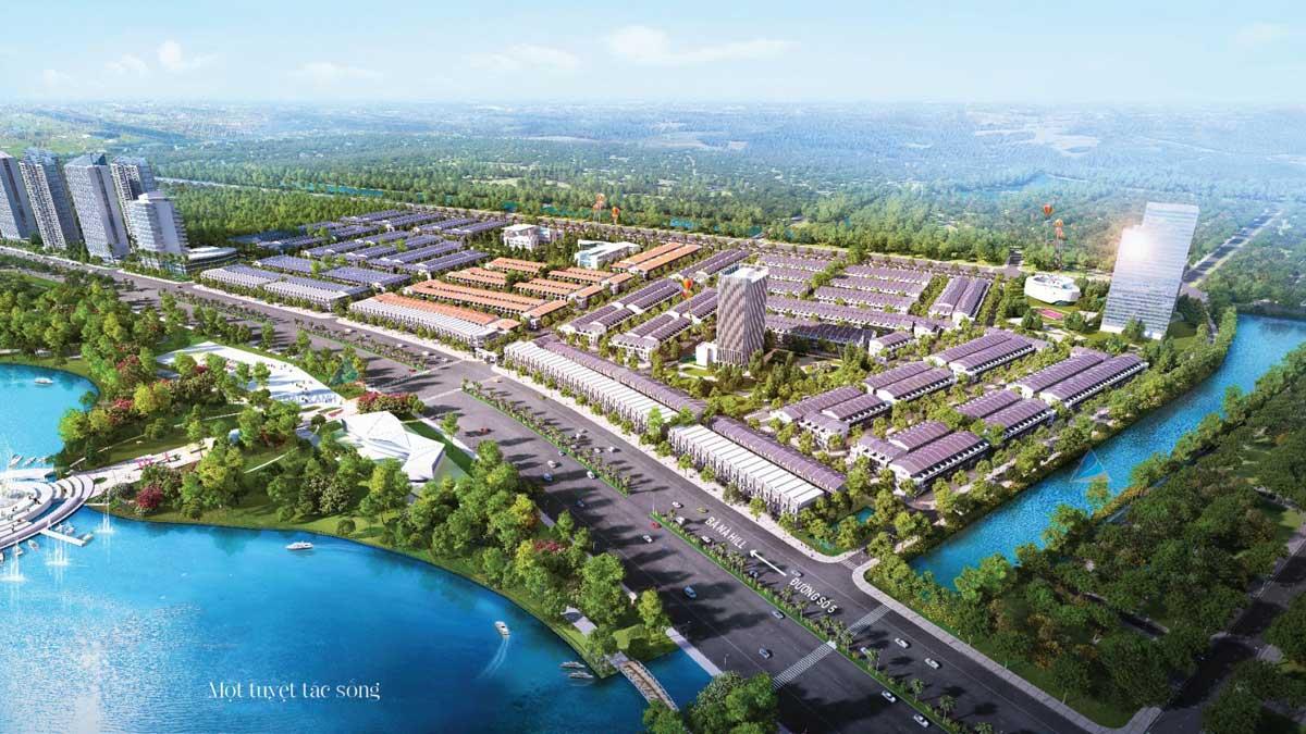 Khu công viên dọc bờ sông Dự án One World Regency Đà Nẵng