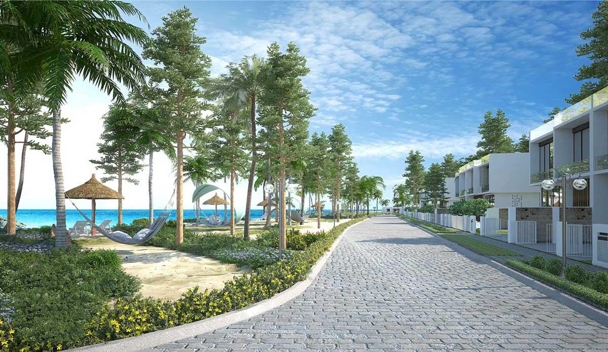 Khu công viên Ven Biển tại Dự án Căn hộ Aria Đà Nẵng