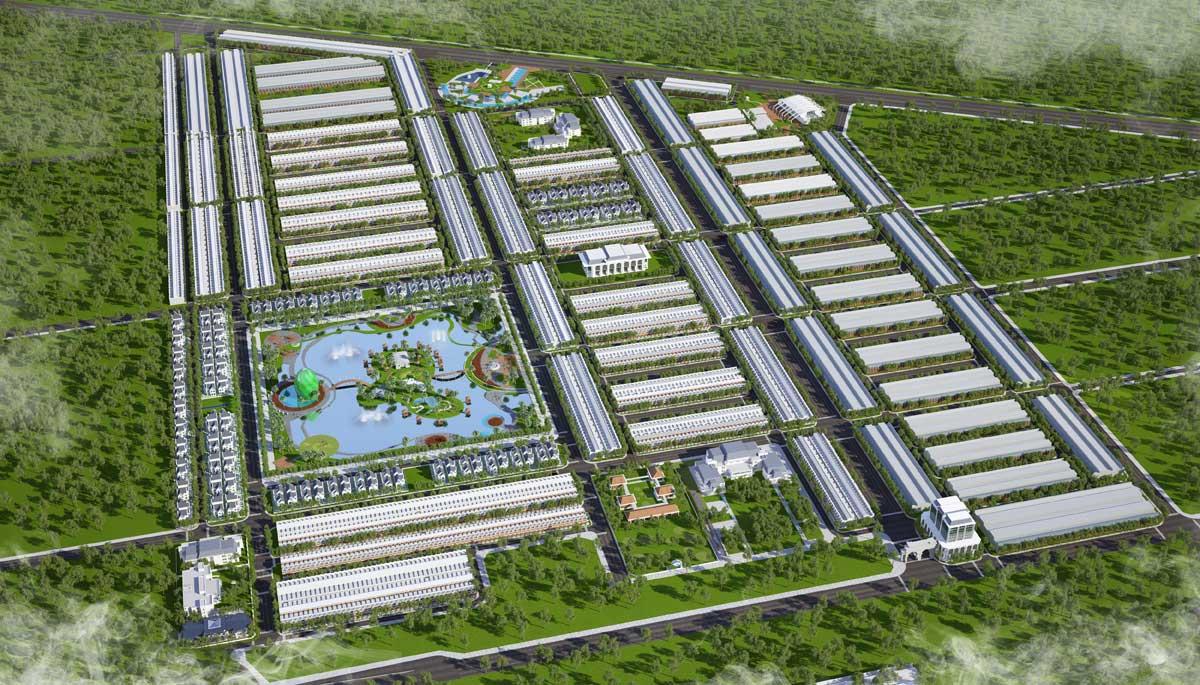 Mặt bằng tổng thể Dự án Khu Đô Thị Cà Mau New City