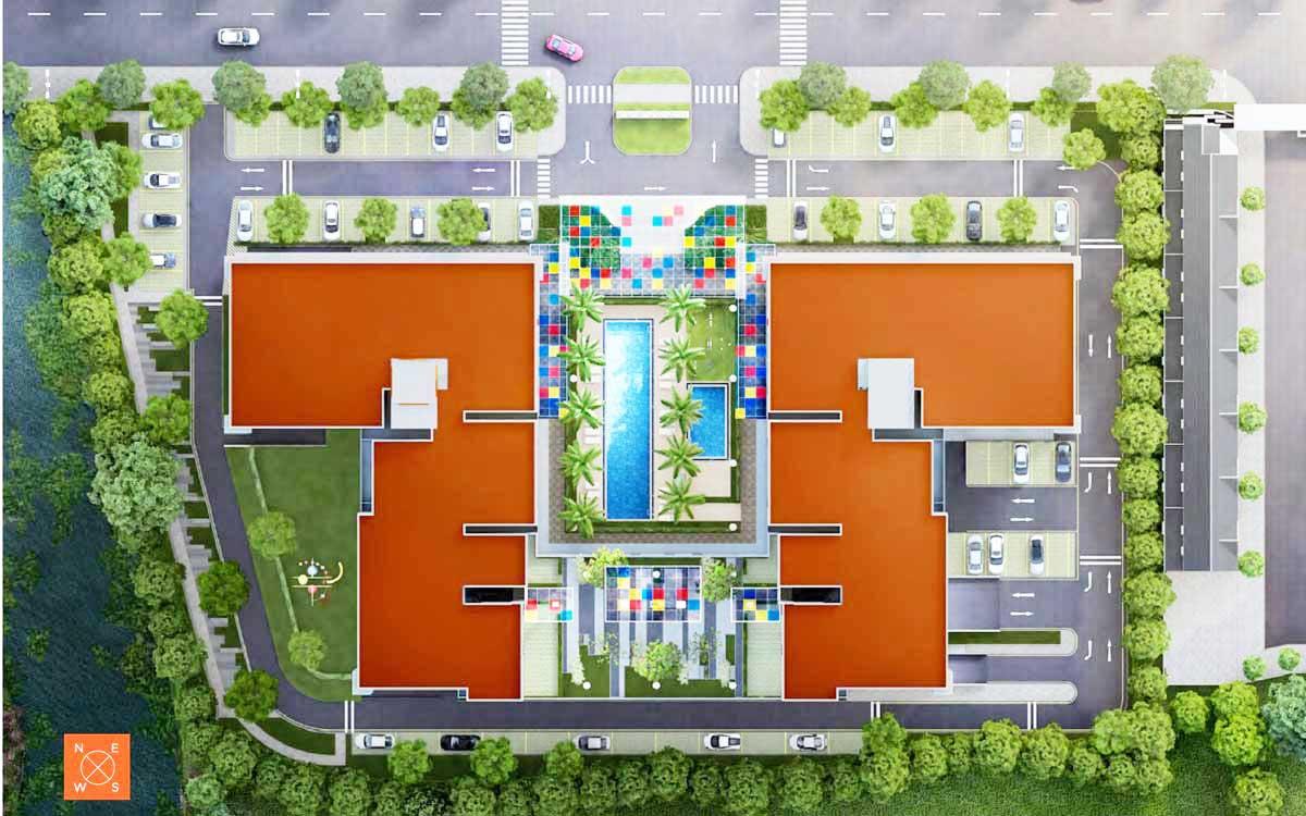 Mặt bằng tổng thể Dự án căn hộ HausNima Quận 9