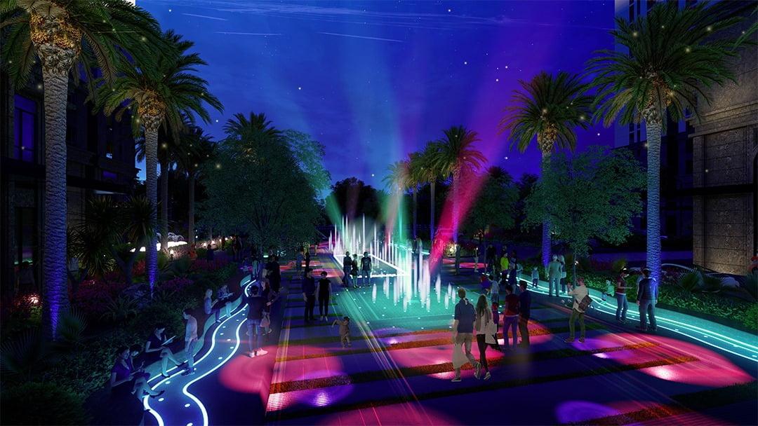 Quảng trường Ánh sáng Dự án