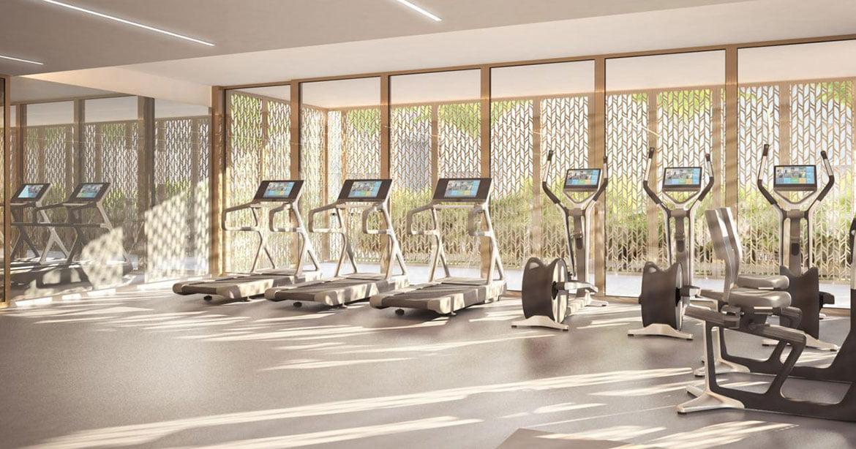 Khu vực Gym hiện đại condotel Aria Đà Nẵng Hotels and Resorts