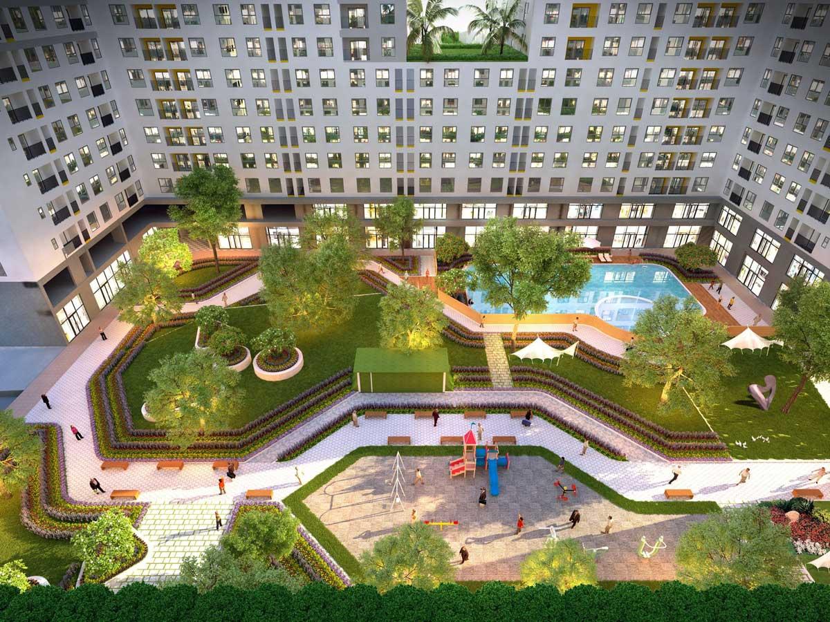 Tiện ích Nội khu Dự án West Gate Park Bình Chánh