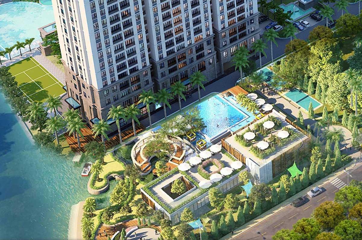 Tiện ích nội khu Chuẩn Resort tại Căn hộ LA Partenza