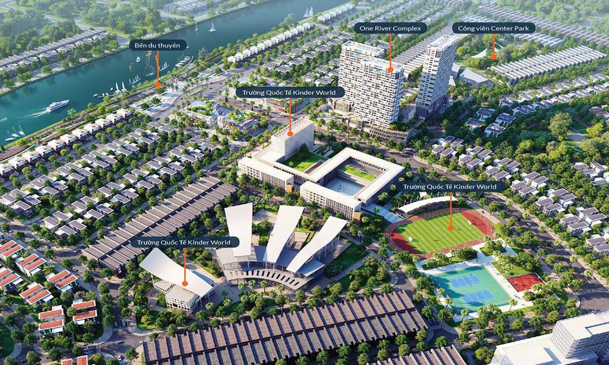 Tiện ích nội khu Dự án One World Regency Đà Nẵng