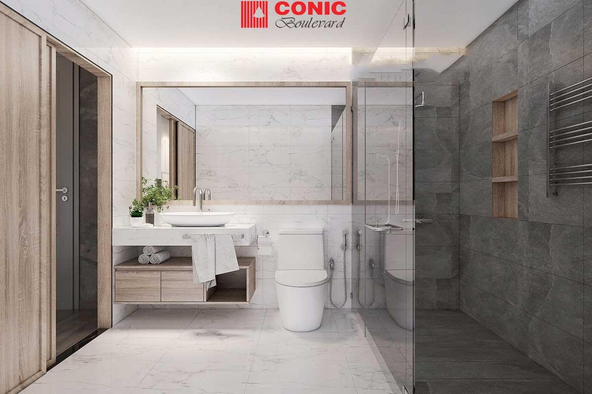 Toilet Căn hộ Chung cư Conic Boulevard