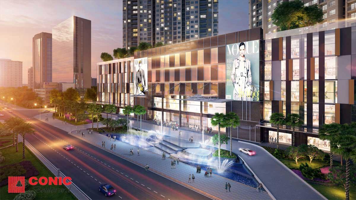 Tiện ích Trung tâm thương mại Căn hộ Chung cư Conic Boulevard