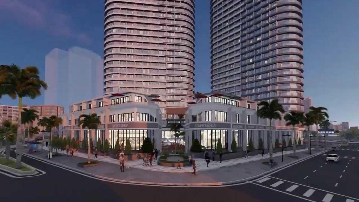 Trung tâm thương mại Dự án New Century Bay Đà Nẵng