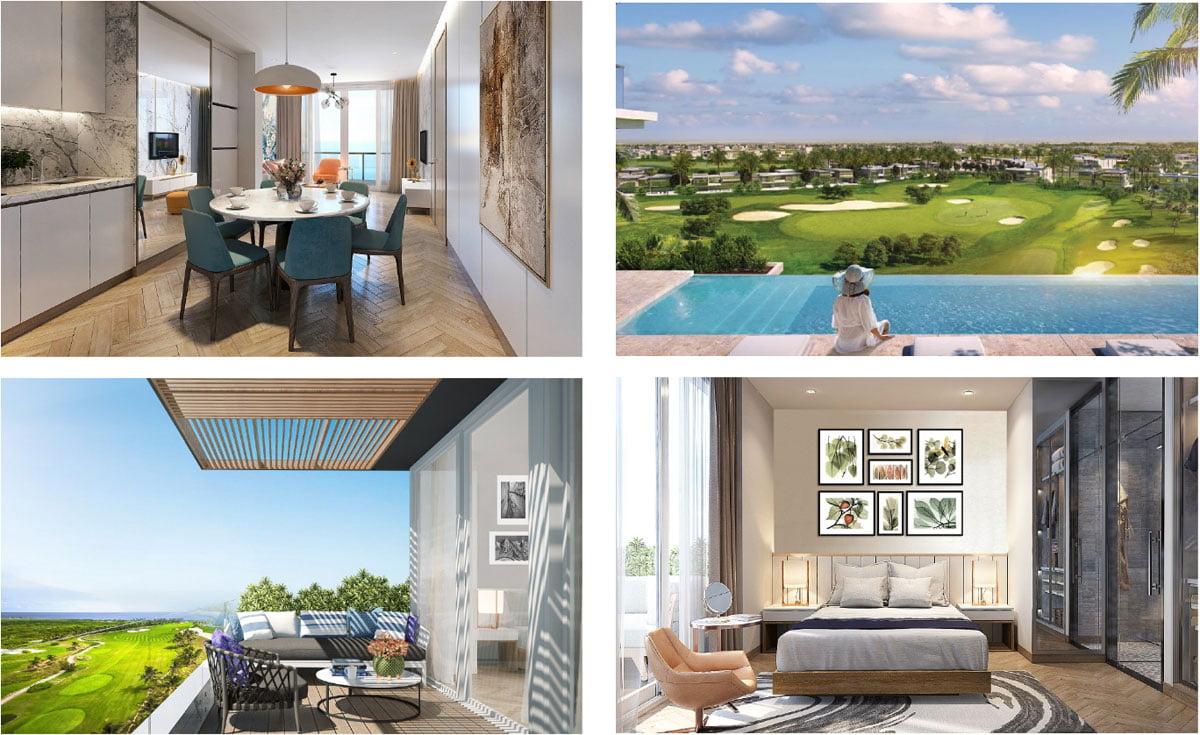 Căn hộ mẫu Golf View Luxury Apartment Đà Nẵng
