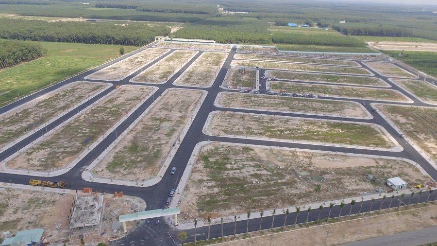 hạ tầng hoàn thiện của dự án